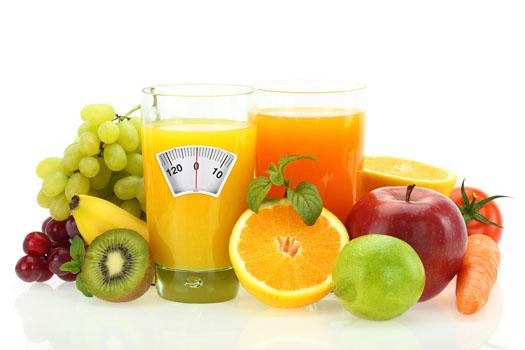 cura de slabire cu fructe