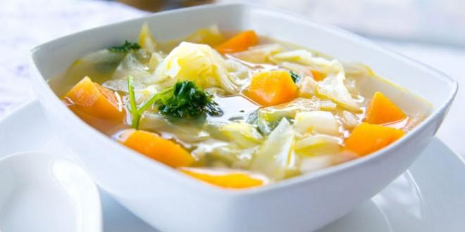 Dieta cu supa de varza pentru 7 zile
