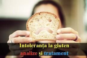 Intoleranța la gluten – analize și tratament