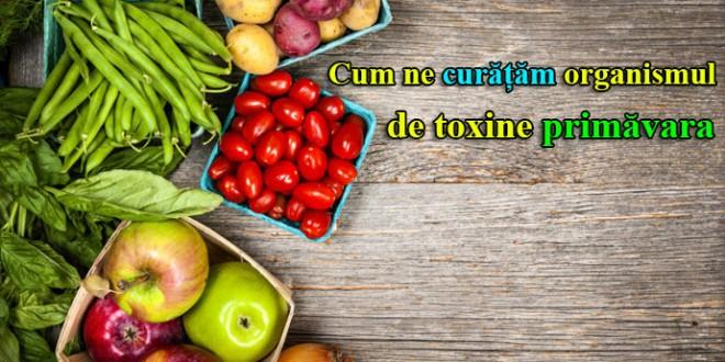 Cum ne curățăm organismul de toxine primăvara