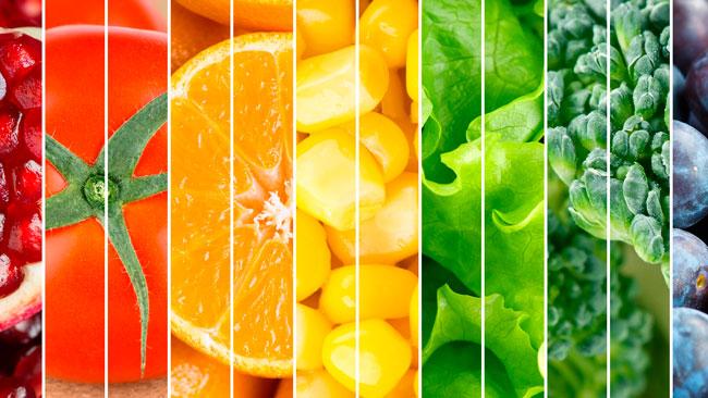 Dieta pe culori – slabesti si ramai sanatoasa