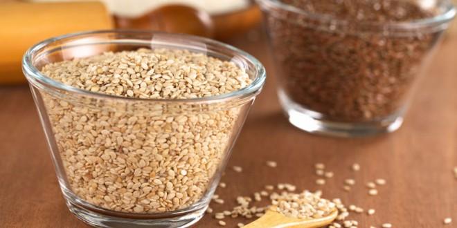 Ajutorul tău pentru a slăbi: semințele de in și de susan!